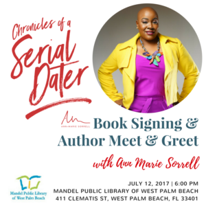 Chronicles of a Serial Dater - Book Signing & Meet & Greet | BlackBusinessLoop.com