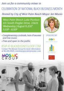 Community Mixer for National Black Business Loop in West Palm Beach | BlackBusinessLoop.com